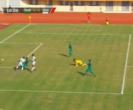 Mané missed an open goal. Screenshot/BeINSports