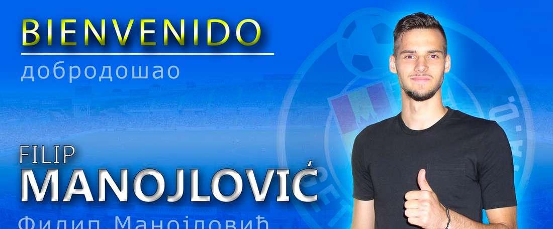 Manojlovic joue avec la sélection serbe. GetafeCF