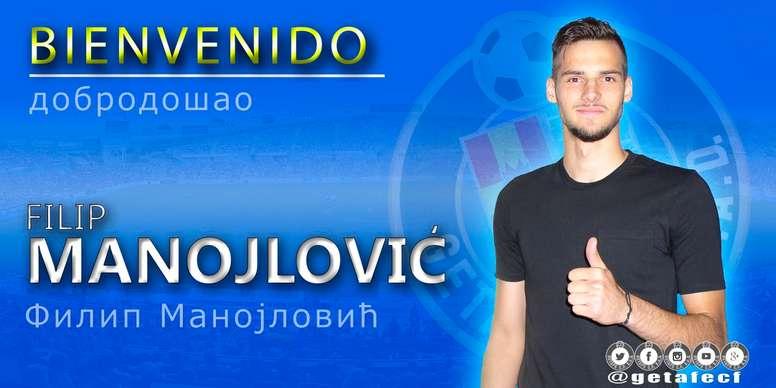 Manojlovic es internacional por Serbia. GetafeCF