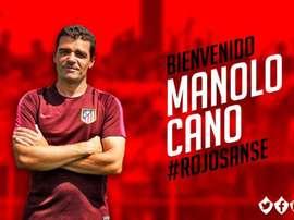 Manolo Cano firma por dos temporadas. Twitter/UDSanse