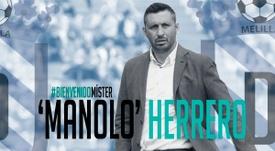 El nuevo técnico tiene contrato hasta final de temporada. UDMelilla