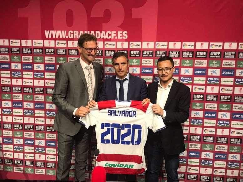 Salvador cerró su etapa en Granada. GranadaCF