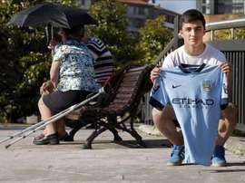 Manu García pourrait quitter City cet été. EFE
