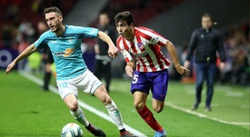 Manu Sánchez, debut por la puerta grande. Twitter/Atleti