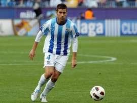 Manu Torres, en su etapa como jugador del Málaga. LosBoquerones