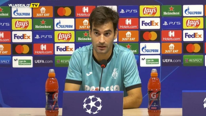 Trigueros analizó lo que le espera al Villarreal frente al Atalanta. Captura/VillarrealCFTV