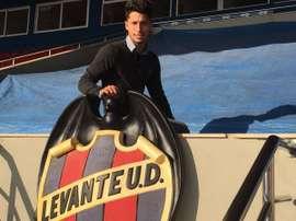 Manu Viana, nuevo refuerzo del Atlético Levante. Twitter