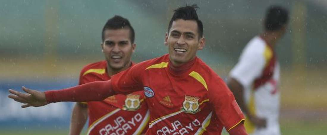 Huancayo ganó por 4-0 al líder. Huancayo