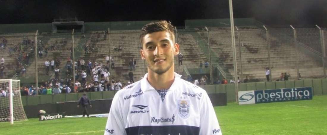 Palmeiras negocia com reforço argentino Manuel Guanini. Twitter