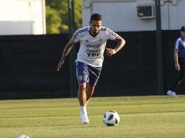 Lanzini sufrió una grave lesión que le tendrá apartado cerca de medio año del fútbol. AFA