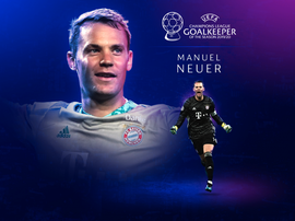 Manuel Neuer wins 19-20 best goalkeeper. UEFA