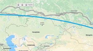 Vladivostok y Kaliningrado están separadas por una cantidad ingente de kilómetros. GoogleMaps