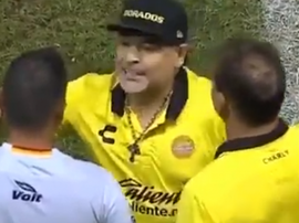 Maradona, en estado puro. Captura