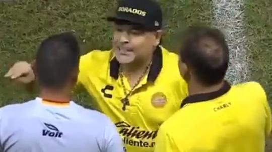 Maradona, en estado puro. Captura