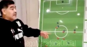Maradona a fait un discours qui est maintenant viral. Instagram/maradona