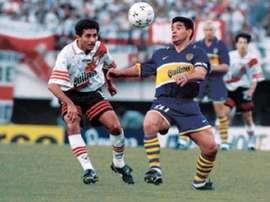 Maradona played his final game 21 years ago. BocaJuniors
