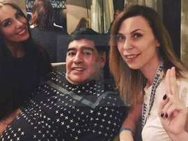 Maradona has been accused of sexually assaulting a Russian journalist. InfoBae