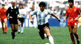 Maradona's image suggested for Argentinean banknotes. EFE