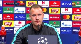 Ter Stegen fala sobre Neuer. BarçaTV