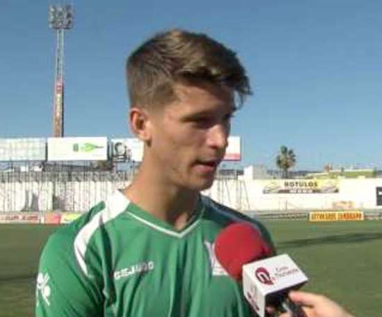 Marc Cardona ha cumplido su sueño de jugar en Champions con el Barça. Youtube - Costa Noroeste