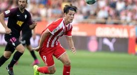 Gual jugó todo el encuentro anterior. Twitter/GironaFC