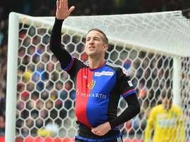El ariete austríaco ha recuperado su buen estado de forma tras superar su lesión. FCBasel