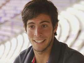 Marc Valiente a signé pour deux saisons avec l'équipe belge. Youtube