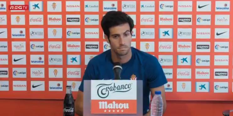 Marc Valiente habló en rueda de prensa antes de que arranque la competición. Twitter/RealSporting