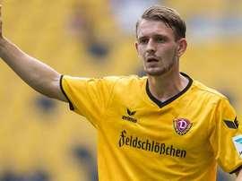 Marc Wachs, jugador del Dynamo Dresden. MDR
