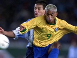 Marcelinho Paraíba está de volta ao futebol. AFP