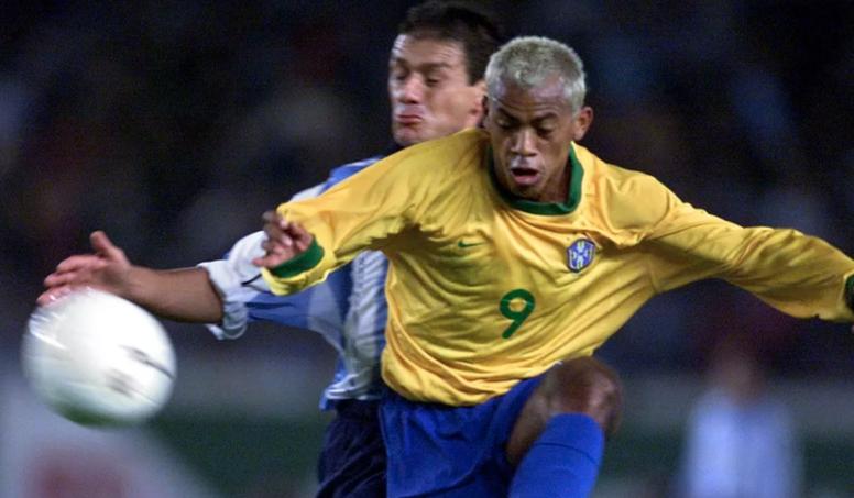 Marcelinho Paraíba has returned to professional football as a player. AFP