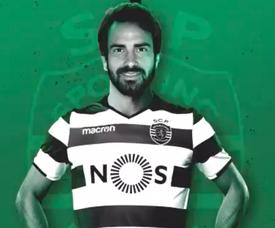 Marcelo, nuevo jugador del Sporting de Portugal. SportingCP