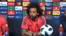 Marcelo habló de la Juventus también. Captura/RealMadridTV