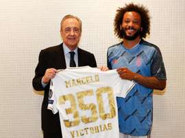 Marcelo has won 350 Real Madrid matches in 13 seasons. RealMadrid