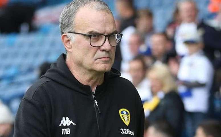 El Leeds le asegura minutos a las órdenes de Bielsa. AFP