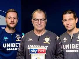 Marcelo Bielsa named Championship Manager of the Month. LeedsUnited