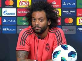 Marcelo also spoke about Juventus. Captura/RealMadridTV