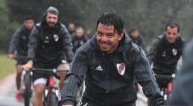 Gallardo habló del interés de Luis y Paulo Díaz. CAROficial