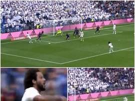 Marcelo scored a brilliant goal. Capturas de CBC
