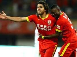 Marcelo Moreno sobe para a primeira divisão da China. Twitter