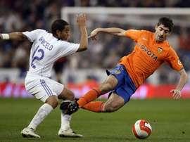 L'attaquant avait offert la dernière victoire des siens à Madrid. EFE