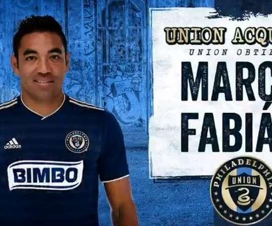 Fabián desembarca en la MLS. PhiladelphiaUnion
