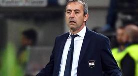 Giampaolo quitte la Sampdoria. EFE