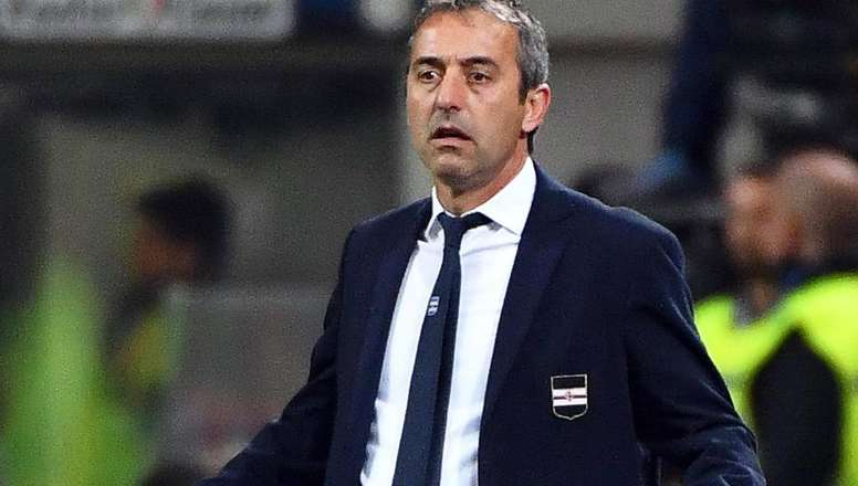 Marco Giampaolo is close to replacing Gattuso on the AC Milan bench. EFE