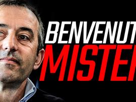 Marco Giampaolo, nouvel entraîneur de Milan. ACMilan