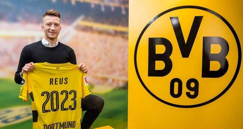 Reus signs new deal. BVB