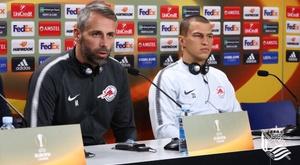 El técnico del Salzburgo no quiere excesos de confianza. RealSociedad
