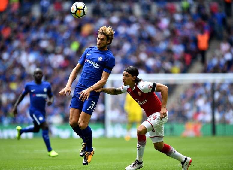 Arsenal e Chelsea empataram em 2-2. Twitter/Chelsea