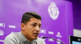 Marcos André se estrenó como goleador ante el Athletic. RealValladolid