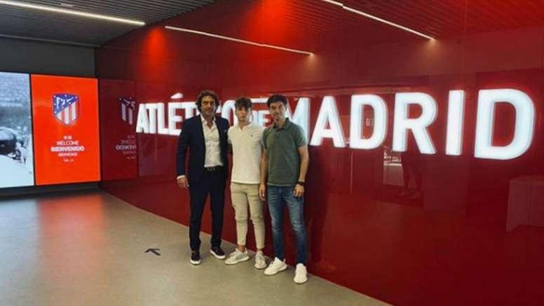 Marcos Denia seguirá creciendo en el Atlético. Instagram/marcosdeniaa9